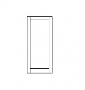 400 Medium Stile Door