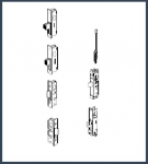 Commercial Door Locking Components